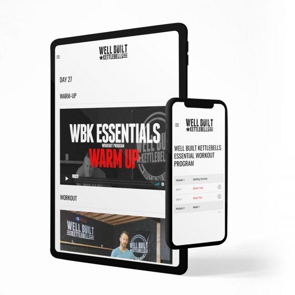 Online Video Kettlebell Workout Program